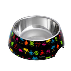 FuzzYard Space Raiders Easy Feeder Bowl - Vanillapup Online Pet Shop