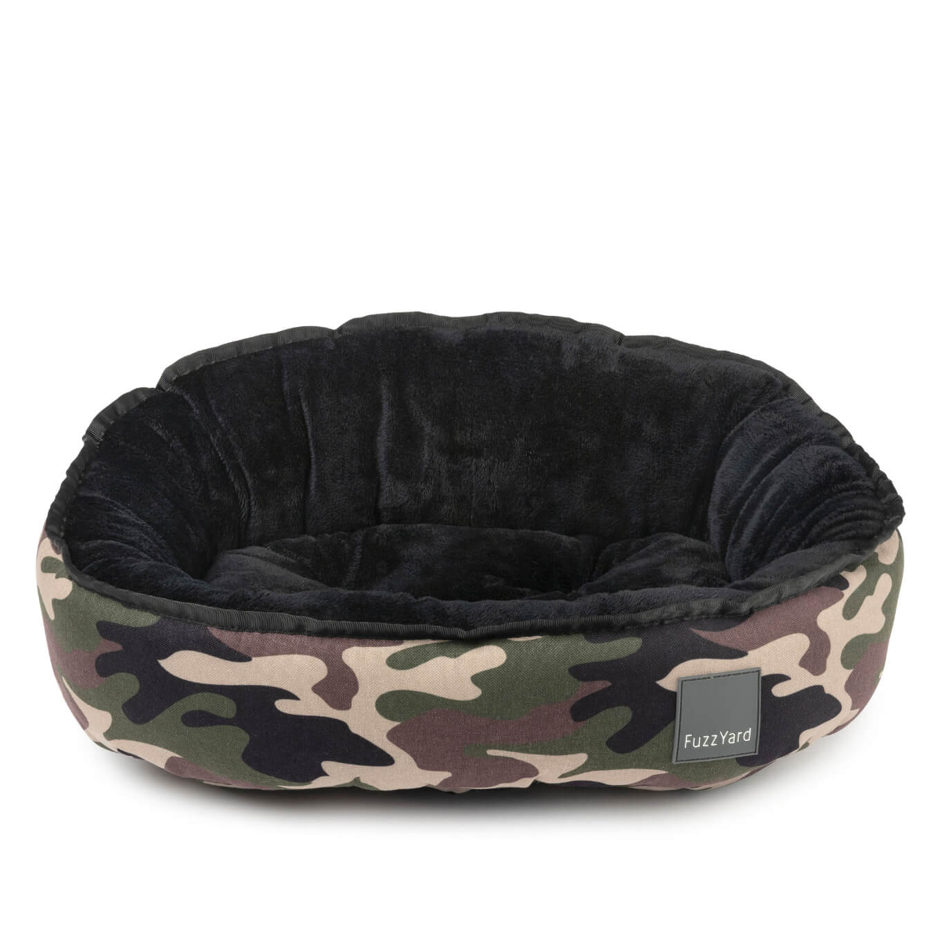 FuzzYard Camo Reversible Pet Bed - Vanillapup Online Pet Store