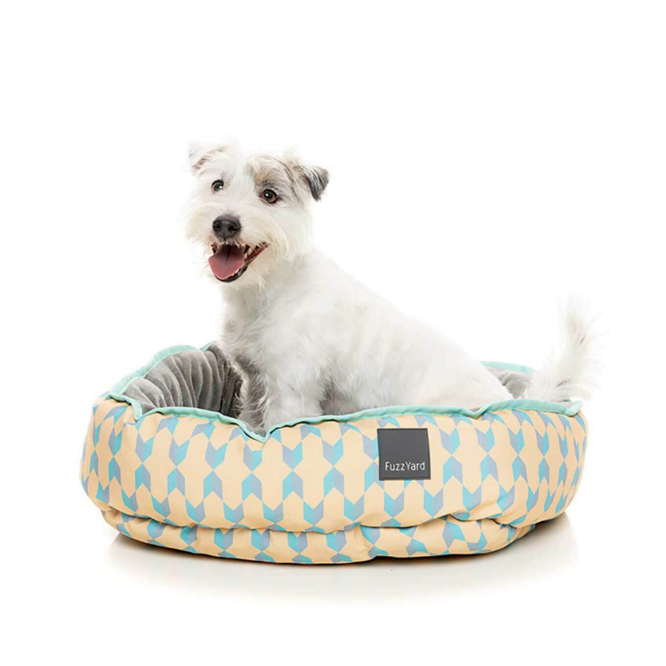 FuzzYard Chelsea Reversible Pet Bed - Beds, Dogs, FuzzYard, Latte, New Dog - Vanillapup - Online Pet Shop