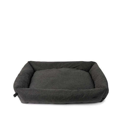 FuzzYard The Lounge Bed in Charcoal - Beds, Cats, Dogs, FuzzYard, New - Shop Vanillapup