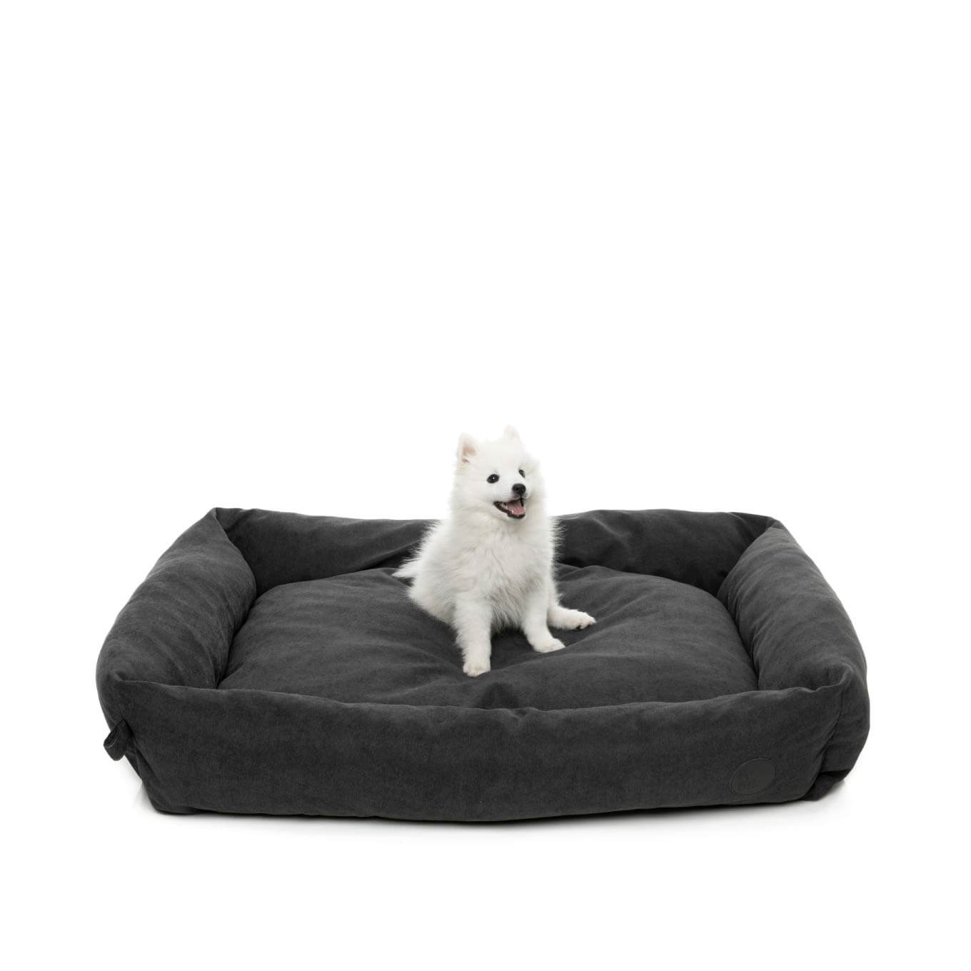 FuzzYard The Lounge Bed in Charcoal - Vanillapup Online Pet Shop