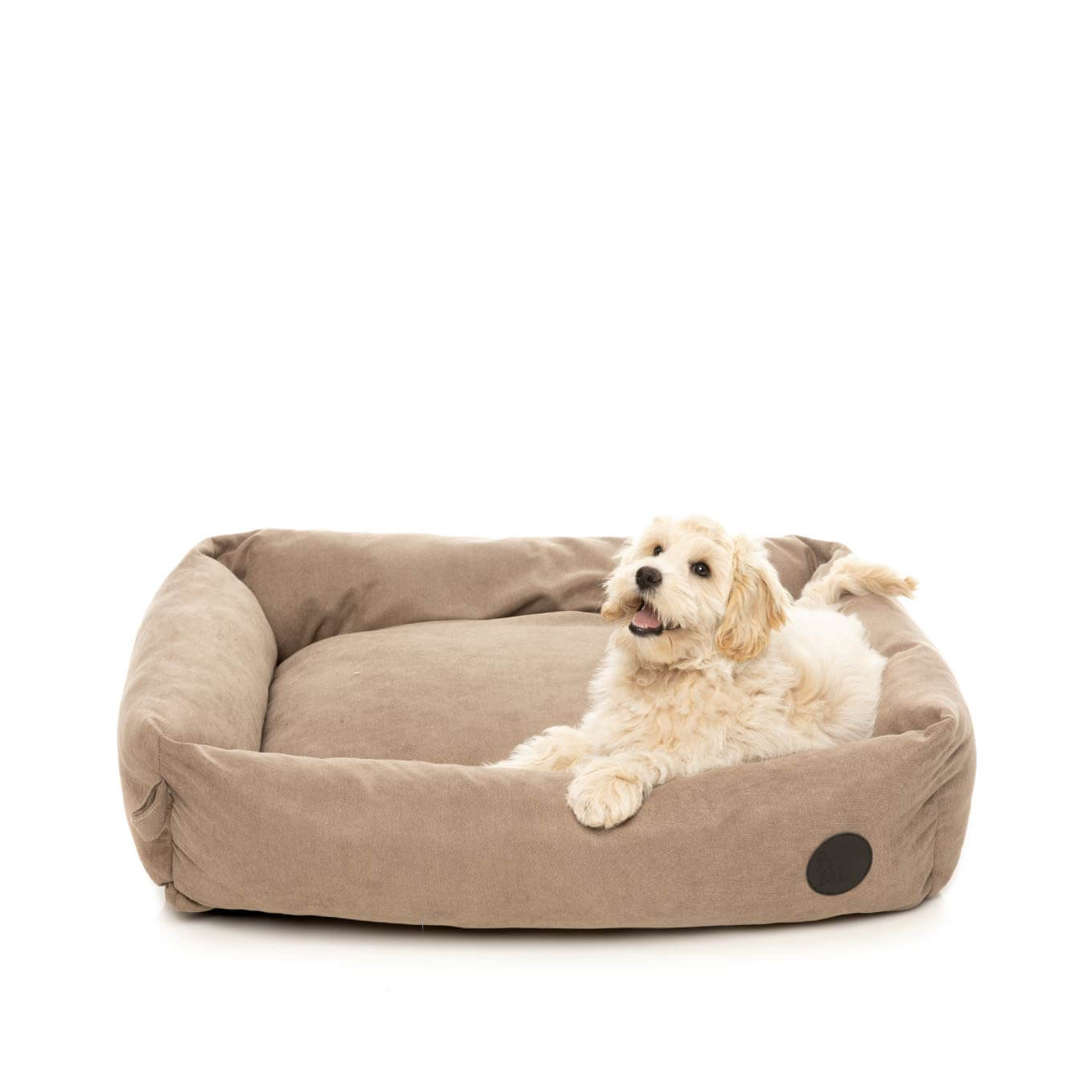 FuzzYard The Lounge Bed in Mocha - Vanillapup Online Pet Store