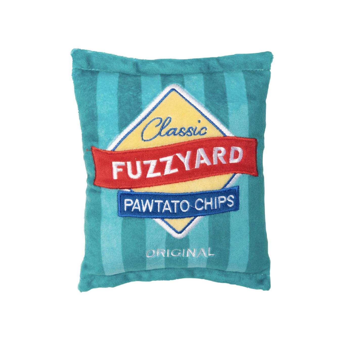 FuzzYard Pawtato Chip Dog Toy - Dogs, FuzzYard, New, Toys - Shop Vanillapup