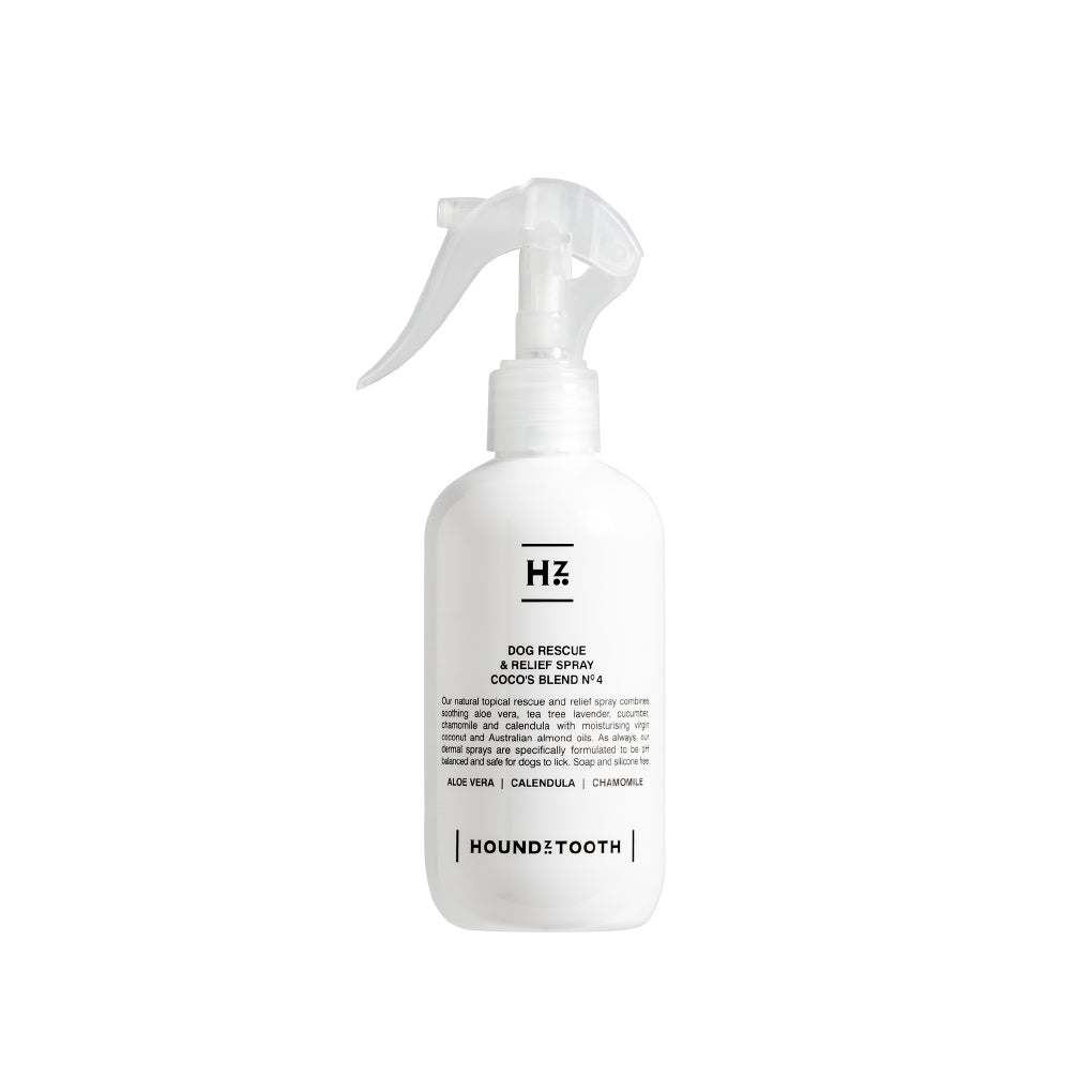 Houndztooth Coco's Blend No.4 Rescue and Relief Spray for Itchy Skin | 250ml - Vanillapup Online Pet Shop