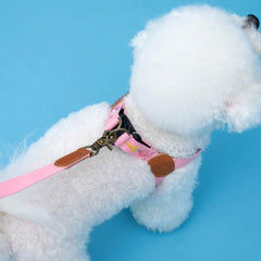 HOWLPOT Adventure Series Step-in Harness - Budapest - Dogs, Harnesses, Howlpot, New Dog, PINK, Walking - Shop Vanillapup - Online Pet Shop