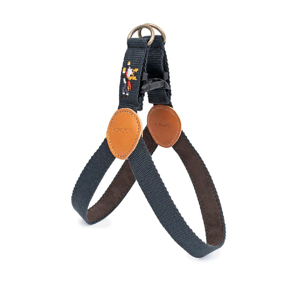 HOWLPOT Adventure Series Step-in Harness - Gotham - Vanillapup Online Pet Store