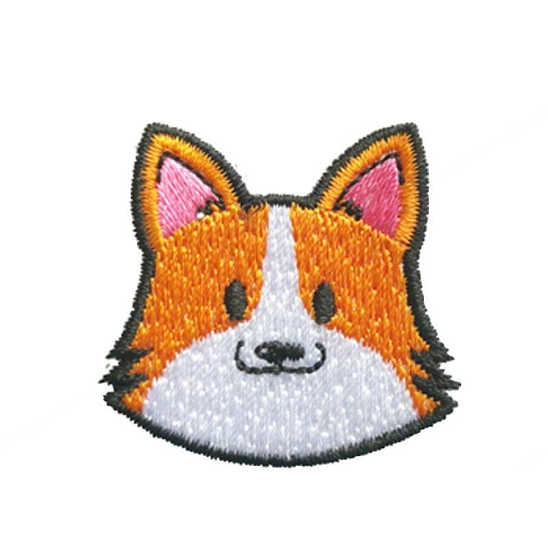 Hey Cuzzies Corgi Iron On Patch - Vanillapup Online Pet Store