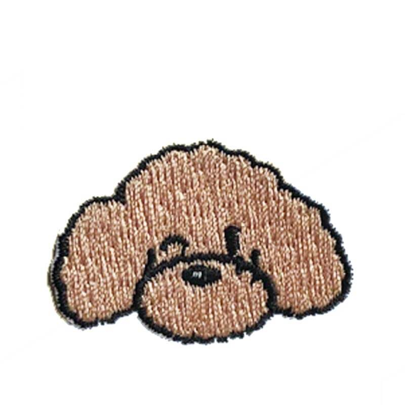 Hey Cuzzies Maltipoo Iron On Patch - Shop Vanillapup Online Pet Shop
