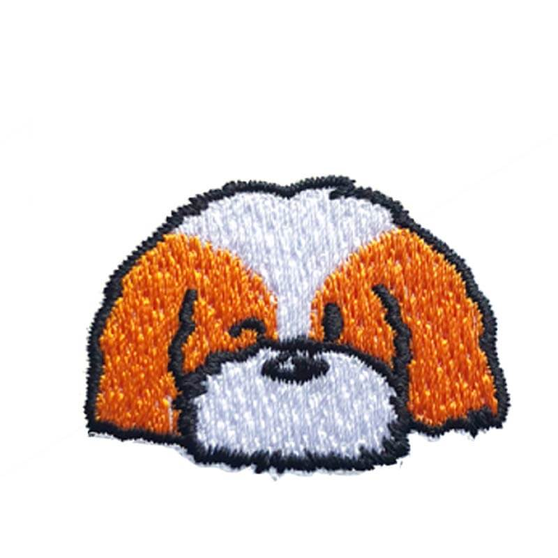 Hey Cuzzies Shih Tzu Iron On Patch - Vanillapup Online Pet Store
