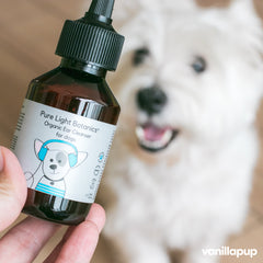 Pure Light Botanics Organic Ear Cleanser for Dogs (100ml) - Vanillapup Online Pet Shop