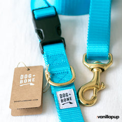 Dog + Bone Multi-way Adjustable Leash | Blue - Vanillapup Online Pet Store