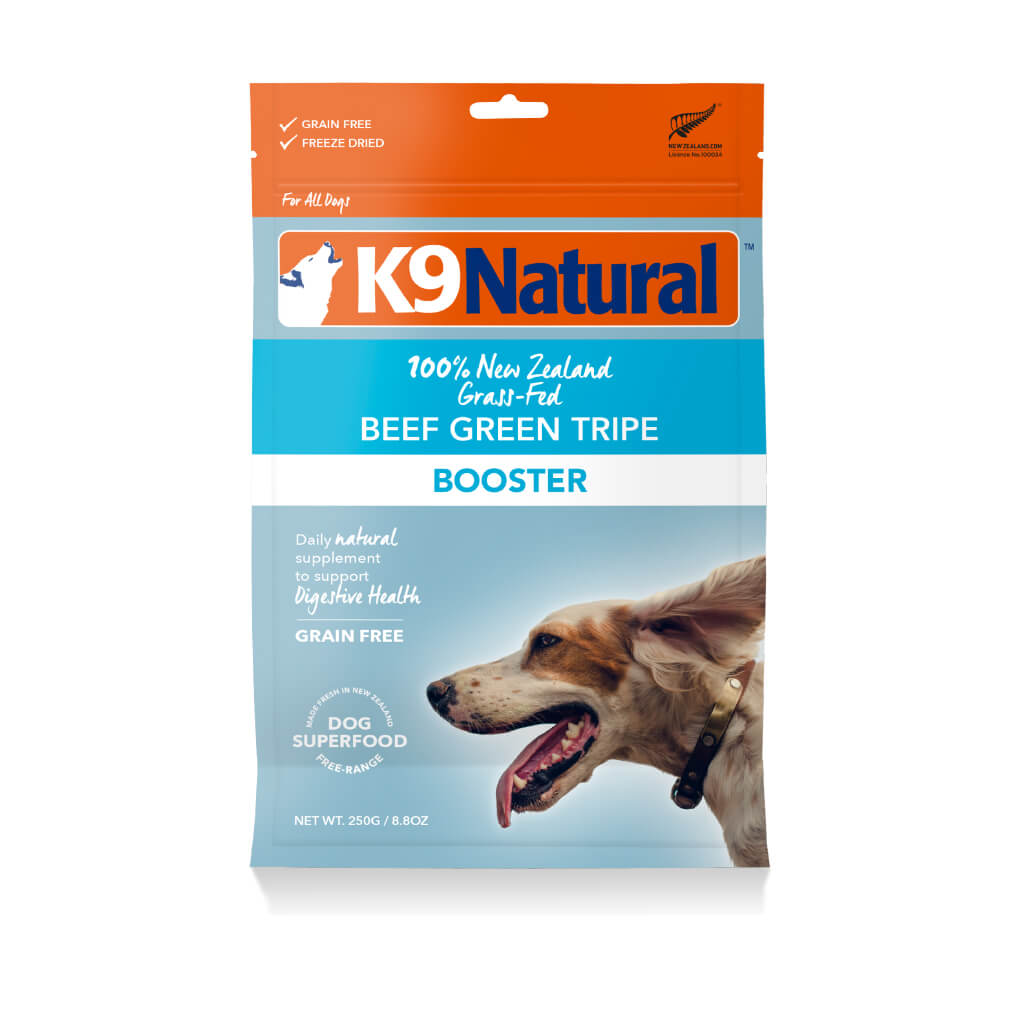 K9 Natural Freeze-dried Beef Green Tripe Booster (250g)