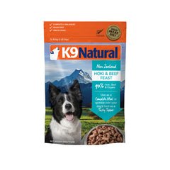 K9 Natural Freeze-dried Hoki & Beef Feast - Dogs, Food, K9 Natural - Vanillapup - Online Pet Shop