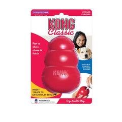 KONG Classic Rubber Toy - Dogs, Interactive, KONG, New Dog, Rubber Toys, Toys - Vanillapup - Online Pet Shop