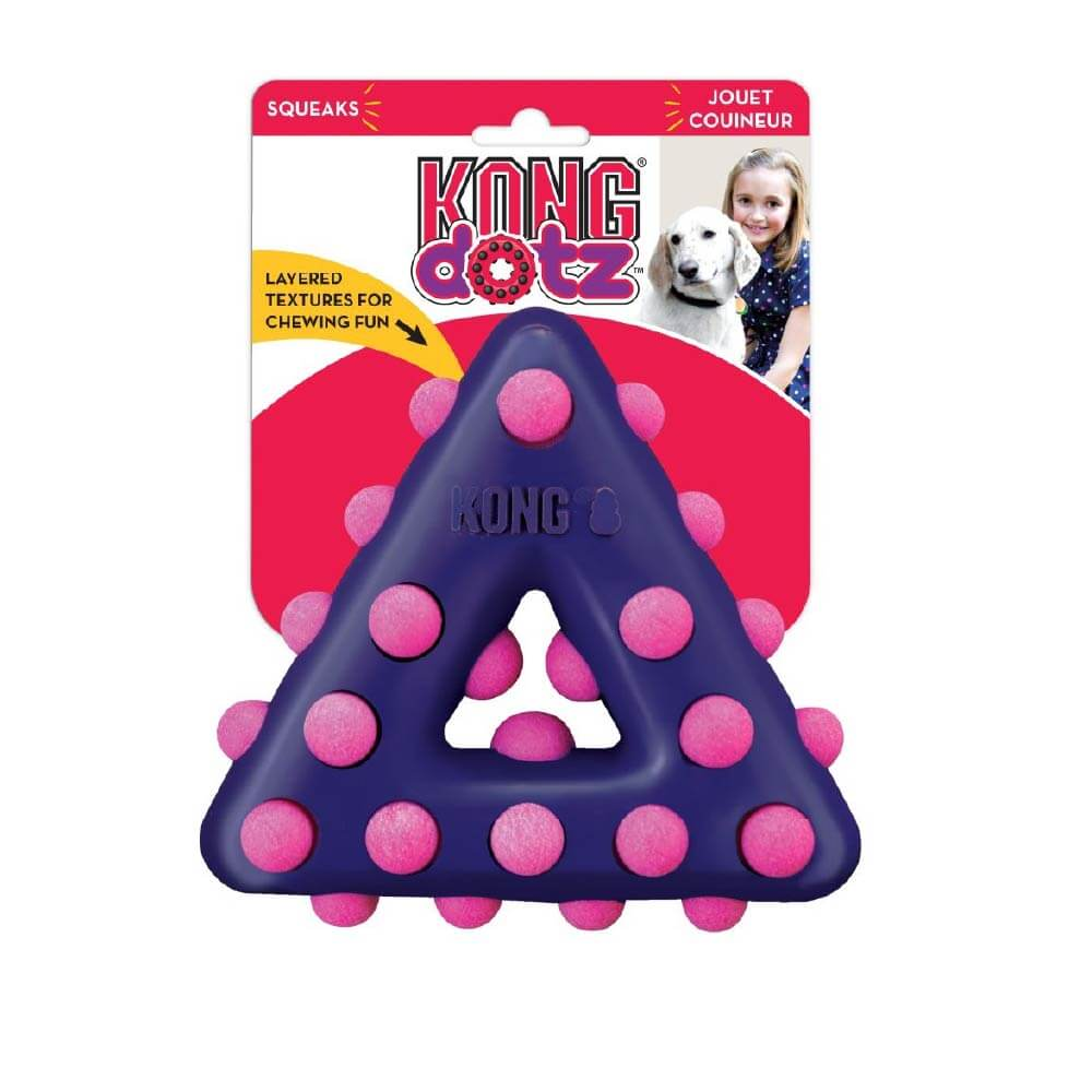 KONG Dotz™ Triangle - Vanillapup Online Pet Shop