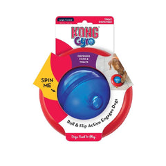 KONG Gyro Interactive Toy - 20, Dogs, Interactive, KONG, Starter Pack, Toys - Vanillapup - Online Pet Shop