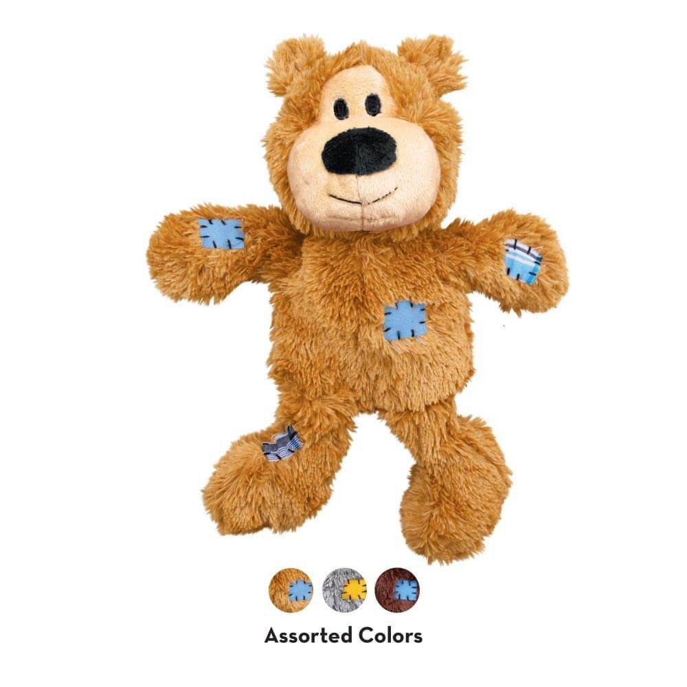 KONG Wild Knots Bears - 20, Dogs, KONG, Latte, New, Toys - Vanillapup - Online Pet Shop