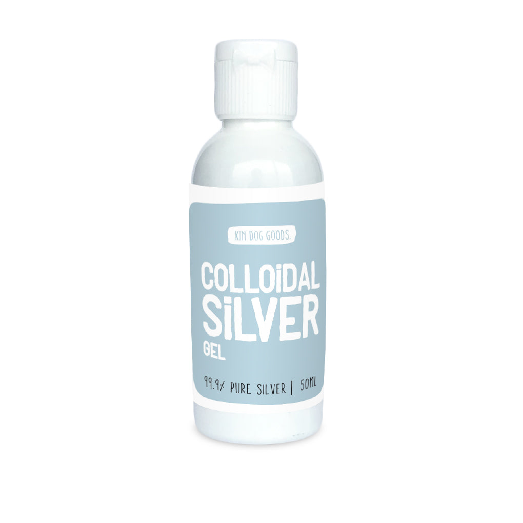 Kin Dog Goods Colloidal Silver Gel - Dogs, Health, Kin Dog Goods, New, Skin, Yeast - Vanillapup - Online Pet Shop
