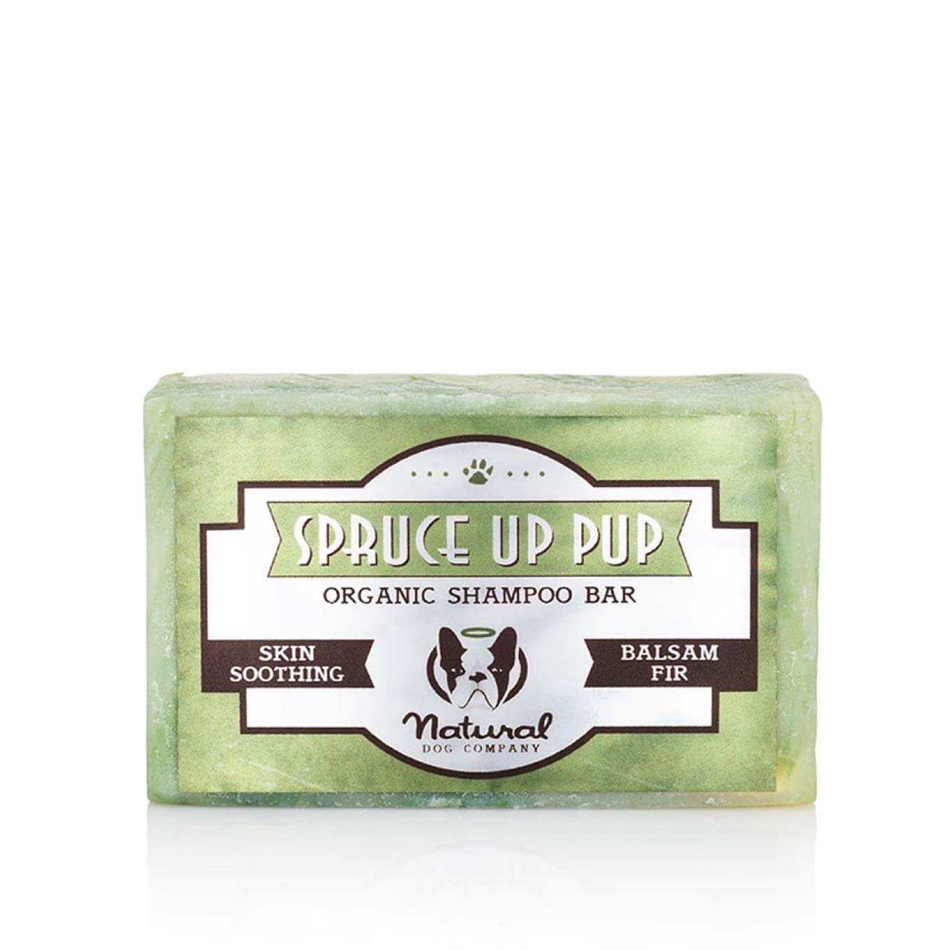 Natural Dog Company Spruce Up Pup Shampoo Bar - Beach, Dogs, Grooming Essentials, Hot Spots, Latte, Natural Dog Company, Paw Licking, Skin - Vanillapup - Online Pet Shop