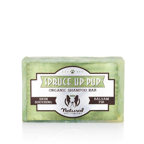 Natural Dog Company Spruce Up Pup Shampoo Bar - Dogs, Grooming Essentials, Natural Dog Company, New, Skin - Shop Vanillapup - Online Pet Shop