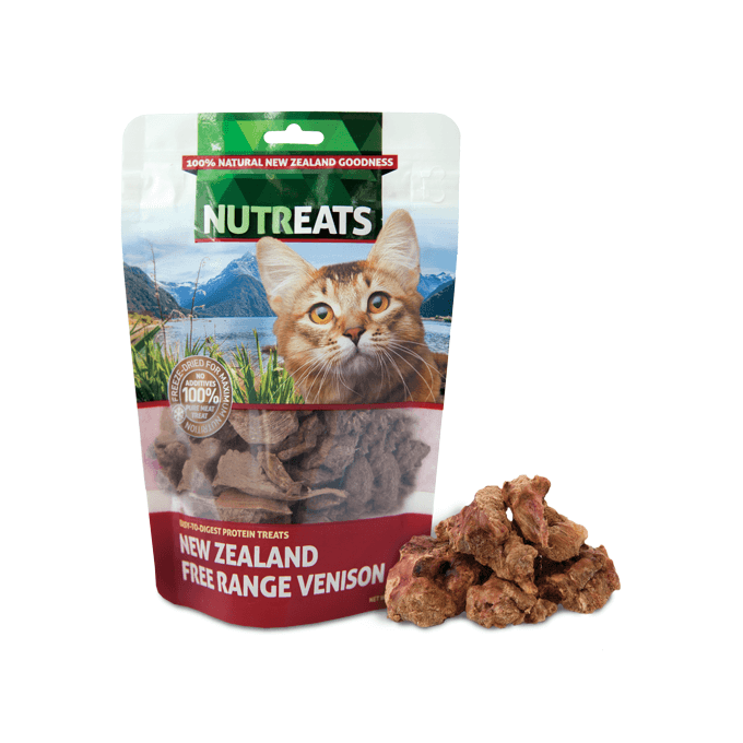 NUTREATS Venison Treats for Cats (50g) - Cats, Nutreats, Treats - Shop Vanillapup