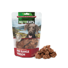 NUTREATS Venison Treats for Dogs (50g) - Vanillapup Online Pet Shop