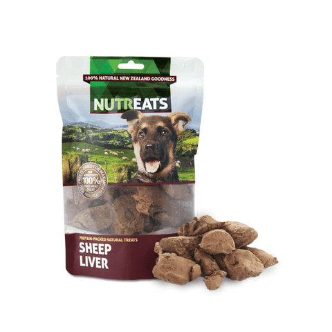 NUTREATS Sheep Liver Treats for Dogs (50g) - Dogs, Nutreats, Treats - Shop Vanillapup