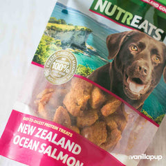 NUTREATS Ocean Salmon Bites for Dogs (50g) - Dogs, Nutreats, Treats - Shop Vanillapup