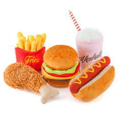 PLAY American Classic Hot Dog Plush Toy - American Classic, Dogs, Interactive, P.L.A.Y., Toys - Shop Vanillapup - Online Pet Shop