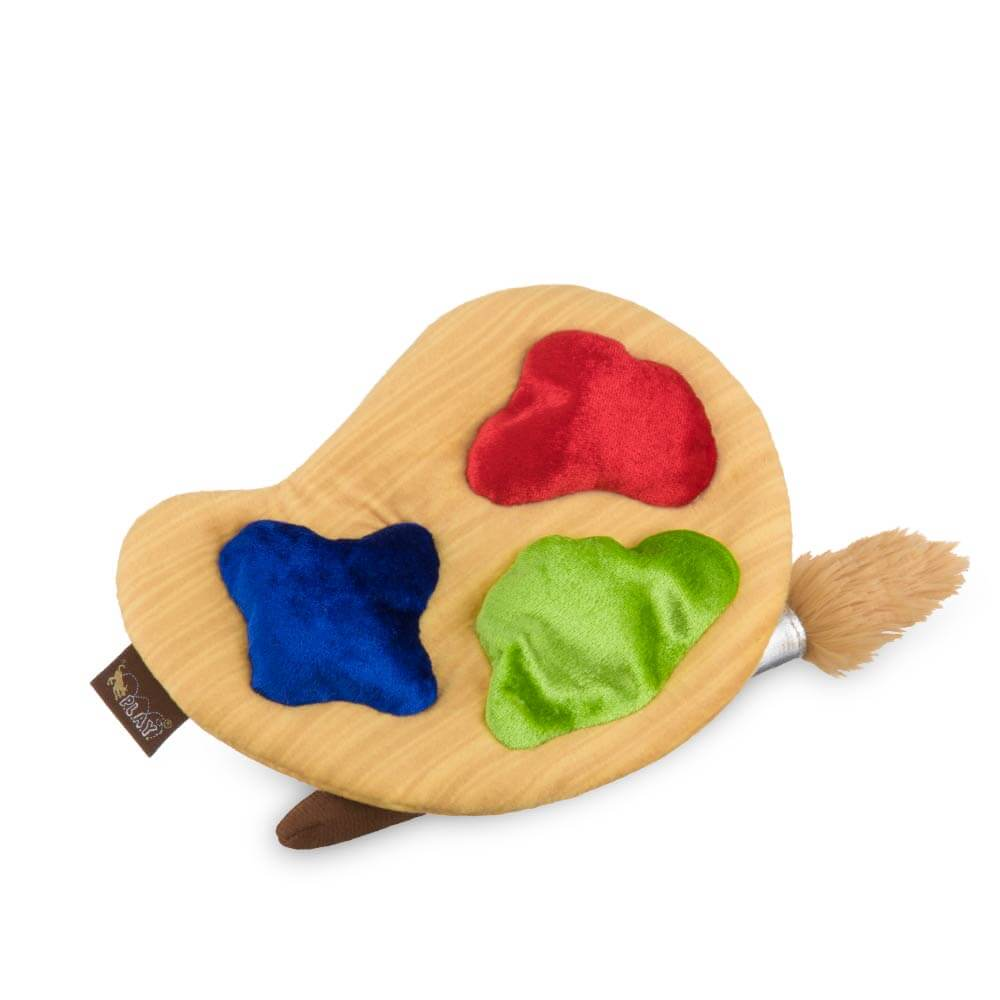 PLAY Back to School Puppy's Palette Plush Toy - Vanillapup Online Pet Store