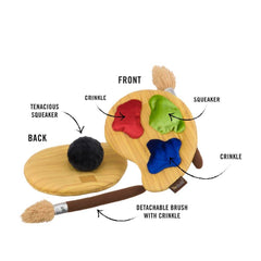 PLAY Back to School Puppy's Palette Plush Toy - Vanillapup Online Pet Shop