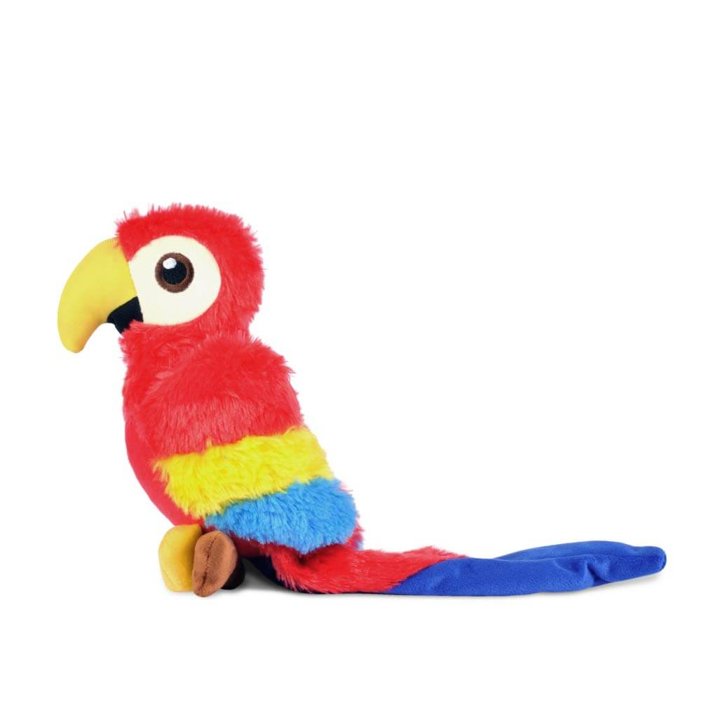 PLAY Fetching Flock Parrot Plush Toy - Shop Vanillapup Online Pet Shop