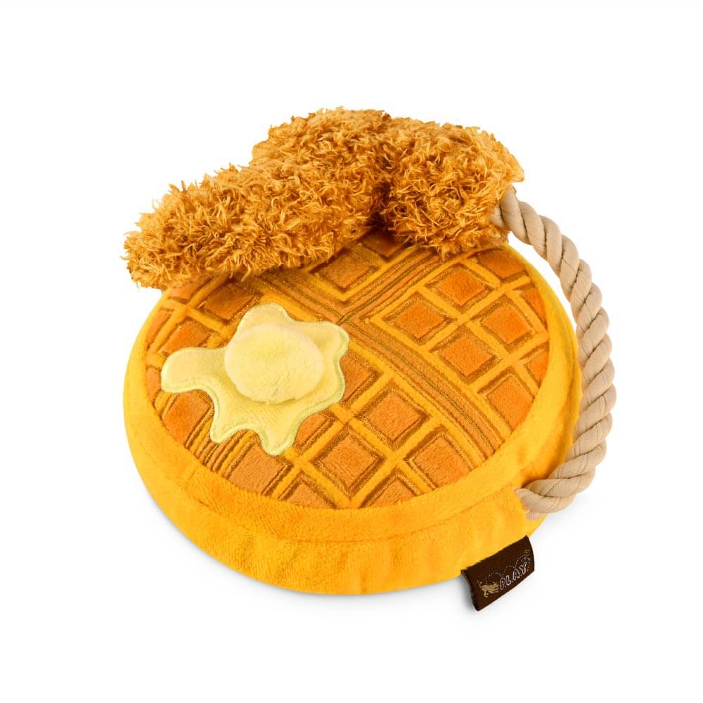 PLAY Barking Brunch Chicken & Woofles Plush Toy - Barking Brunch, Dogs, P.L.A.Y., Starter Pack, Toys - Vanillapup - Online Pet Shop