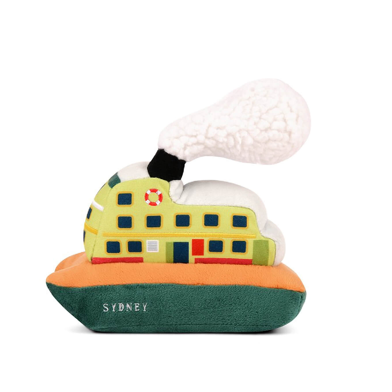 PLAY Canine Commute Sydney Ferry Plush Toy - Vanillapup Online Pet Store