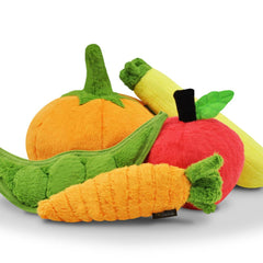 PLAY Garden Fresh Zucchini Plush Toy - Vanillapup Online Pet Store
