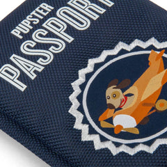 PLAY Globetrotter Pupster Passport Plush Toy Close-up