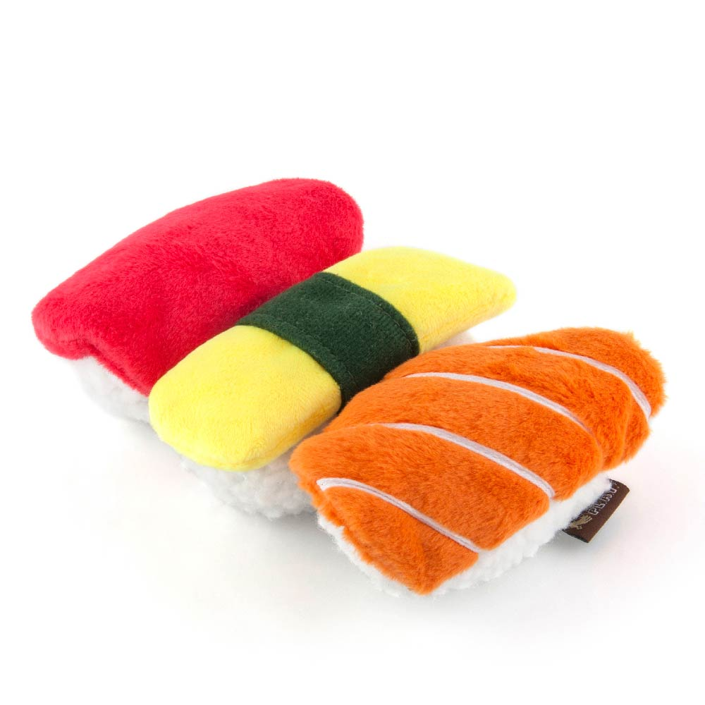 PLAY International Classic Spot's Sushi Plush Toy - Vanillapup Online Pet Store