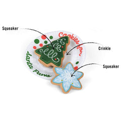PLAY Merry Woofmas Christmas Eve Cookies Toy - Vanillapup Online Pet Store