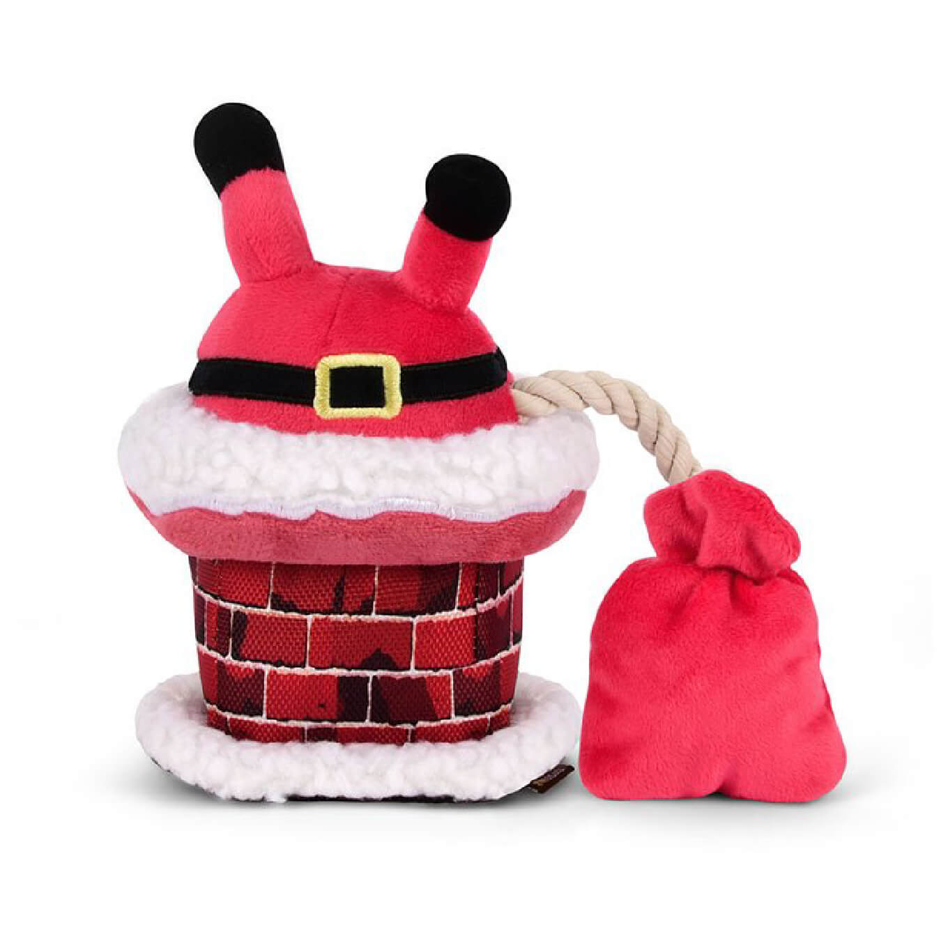 PLAY Merry Woofmas Santa Claus Toy - christmas, Dogs, New, P.L.A.Y., Toys - Vanillapup - Online Pet Shop