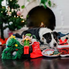 PLAY Merry Woofmas Christmas Tree Burrow Toy - christmas, Dogs, New, P.L.A.Y., Toys - Vanillapup - Online Pet Shop
