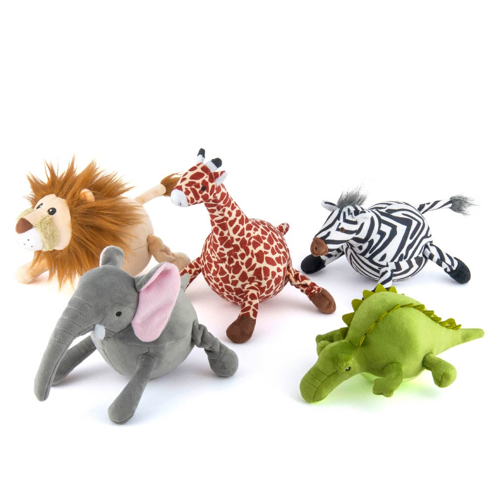 PLAY Safari Plush Toy Collection 3