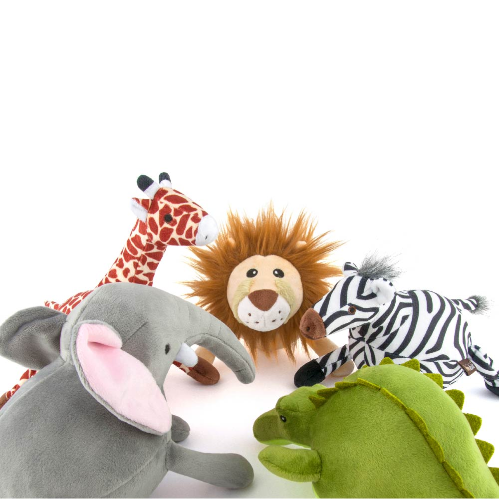 PLAY Safari Plush Toy Collection