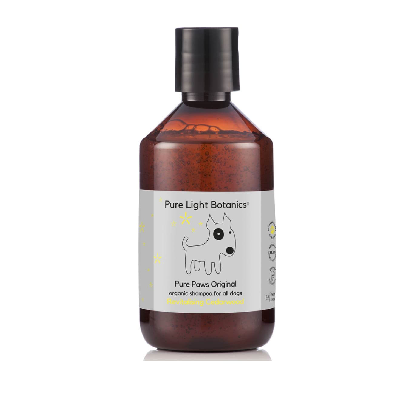 Pure Light Botanics Pure Paws Cedarwood Organic Dog Shampoo - Dogs, Flea&Tick, Grooming Essentials, New, Pure Light Botanics, Skin - Shop Vanillapup - Online Pet Shop