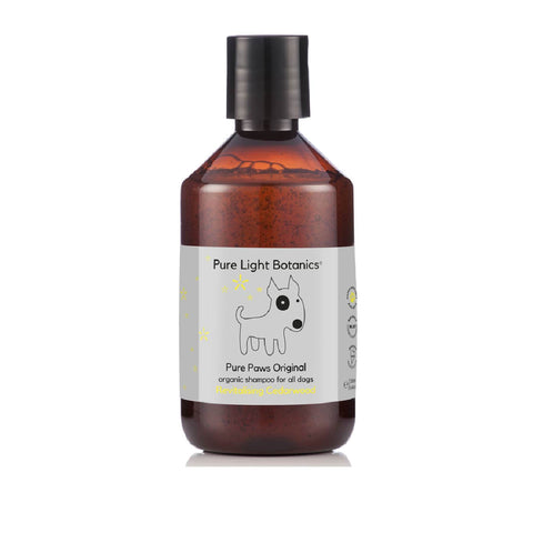 Pure Light Botanics Pure Paws Cedarwood Organic Dog Shampoo - Dogs, Flea&Tick, Grooming Essentials, New, Pure Light Botanics, Skin - Shop Vanillapup