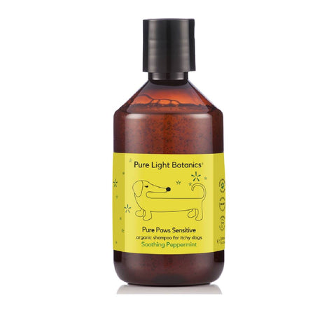 Pure Light Botanics Pure Paws Peppermint Organic Dog Shampoo