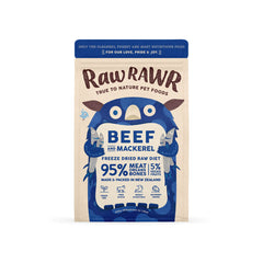 Raw Rawr Freeze-dried Raw Diet | Beef and Mackerel - Dogs, Food, New, Raw Rawr - Vanillapup - Online Pet Shop
