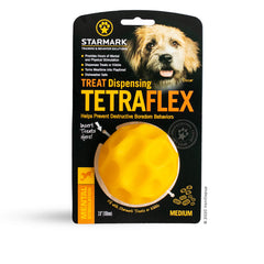 Starmark Tetraflex Treat Dispensing Toy | Medium - Dogs, Interactive, Latte, Starmark, Toys - Vanillapup - Online Pet Shop