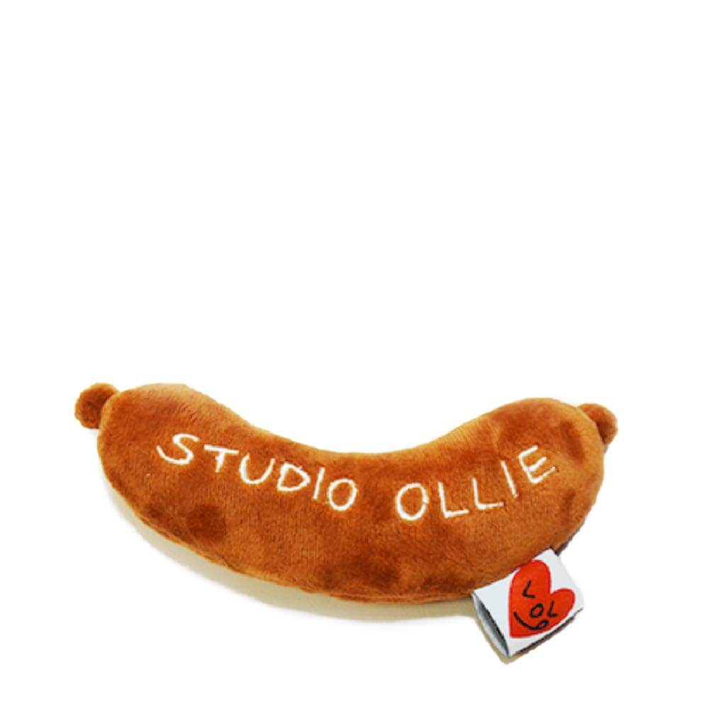 Studio Ollie Grilled Sausage Toy - 20, Dogs, Studio Ollie, Toys - Vanillapup - Online Pet Shop