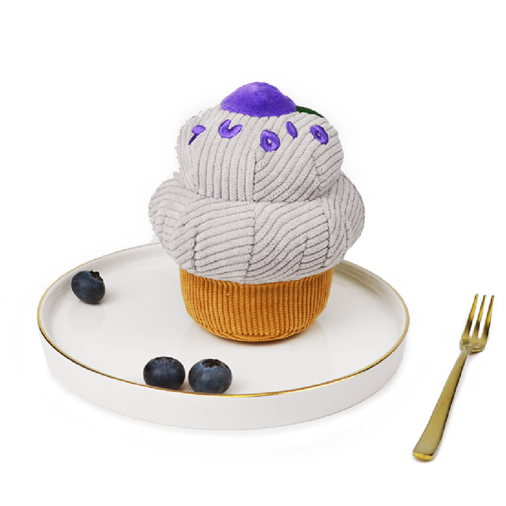 Studio Ollie Blueberry Cupcake Nose Work Toy - Vanillapup Online Pet Shop
