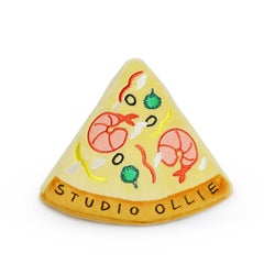 Studio Ollie Shrimp Pizza Toy - Vanillapup Online Pet Store